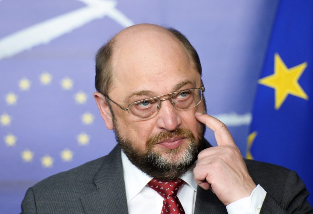 Martin SCHULZ - EP President meets with Prime Minister of Poland
