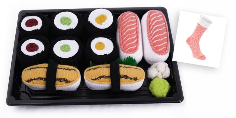 Bioecogeo_Sushi Socks Box