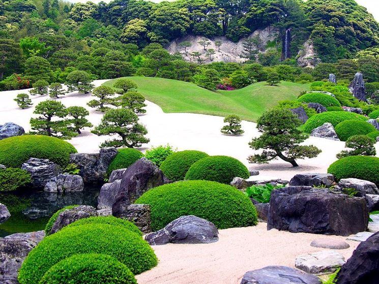 creare un giardino giapponese
