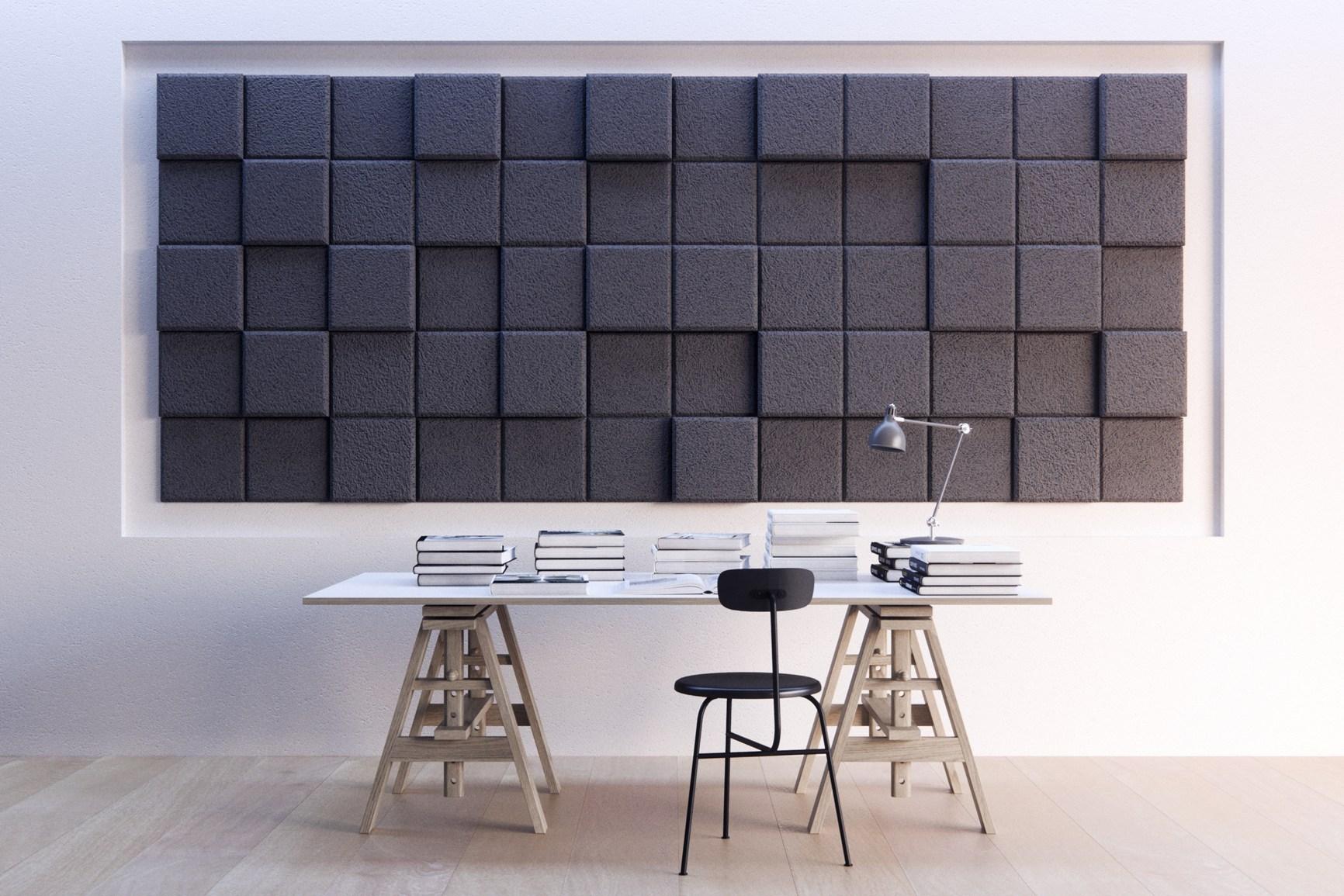 Aumentare il benessere in casa con i nuovi pannelli for Fonoassorbenti pannelli