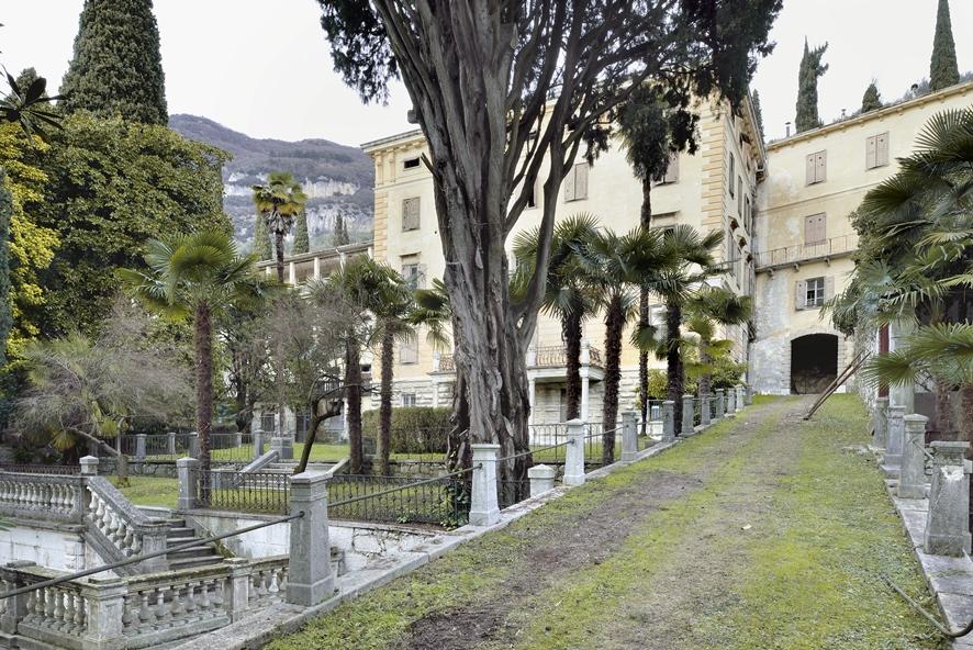 Villa Angerer, abbandonata ormai da anni