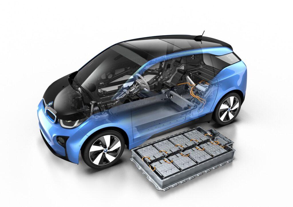 Il pacco batterie della nuova Bmw i3