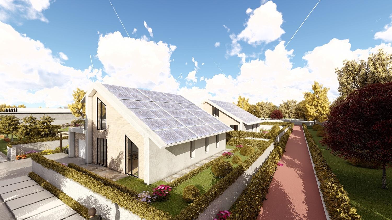 Ecovilla in costruzione a Casarile (MI)