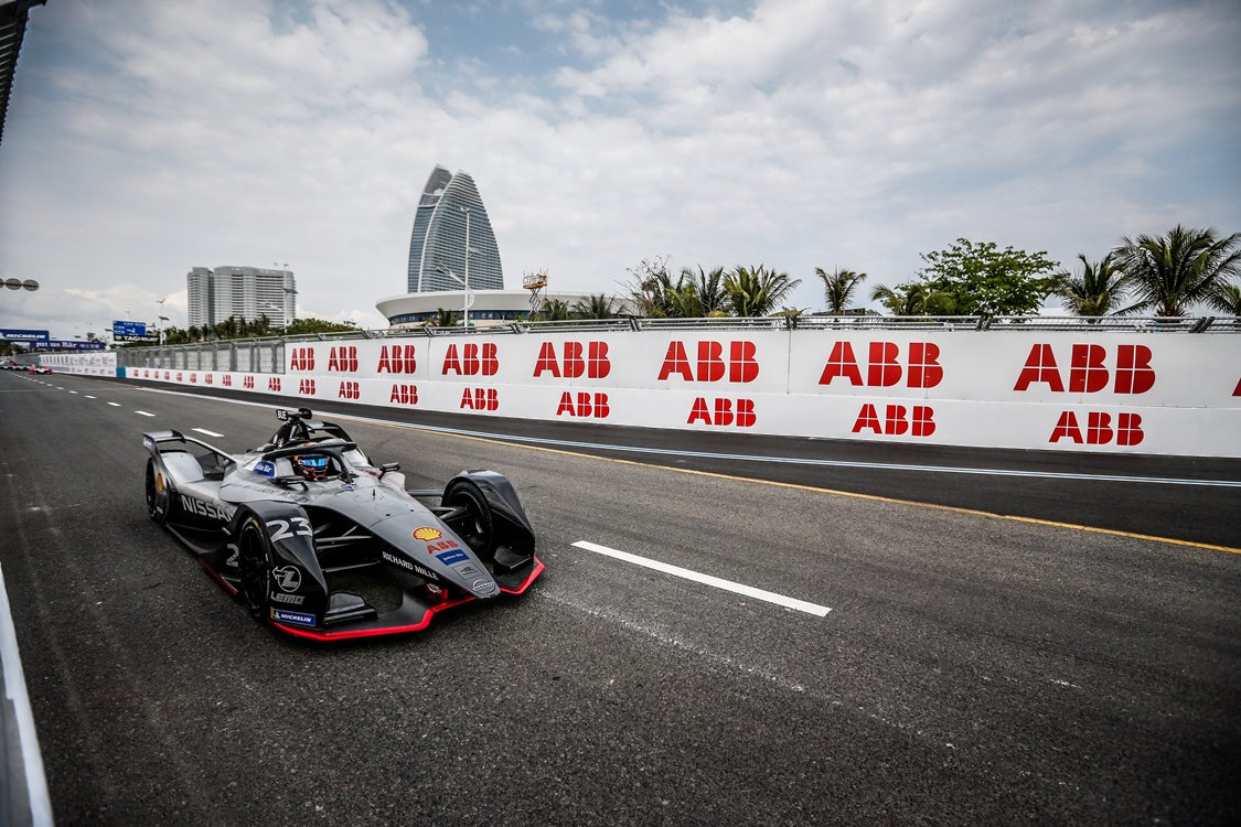 23 BUEMI Sebastien (che), Nissan IM01 team Nissan e-Dams, action during the 2019 Formula E championship, at Sanya, China from march 21 to 23, 2019 - Photo Germain Hazard / DPPI