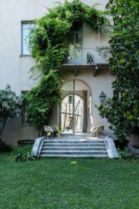 Palazzo Beccaguti Cavriani, via Mazzini 34, cortesia Interno Verde