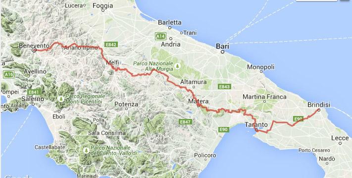 Mappa_-Itinerario_Bicistaff
