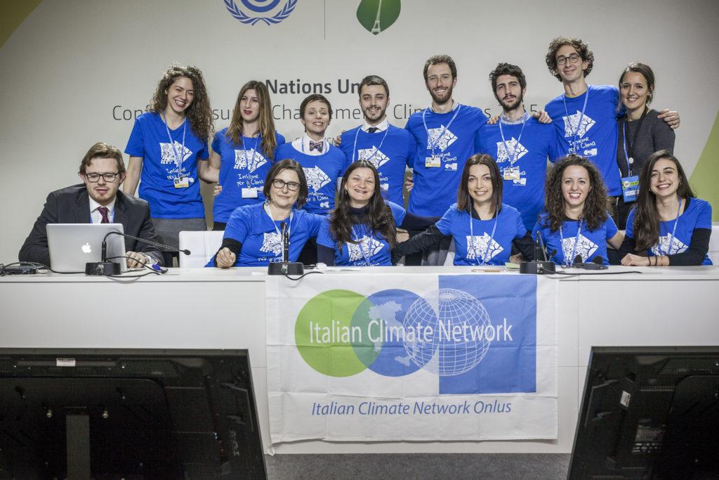 L'Italian Climate Network con la più grande delegazione giovani alla COP21