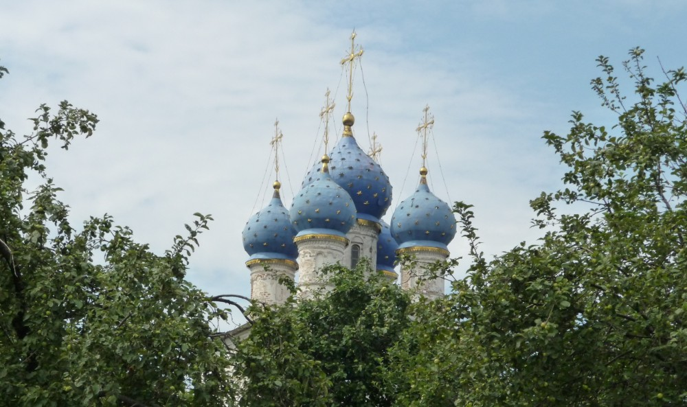 Cielo cupole azzurre Mosca