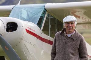 Flight with Doug Tompkins