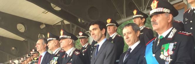 Cerimonia di istituzione del CUTFAA, alla presenza del ministro delle politiche agricole Maurizio Martina e del Comandante generale dell'arma dei carabinieri Tullio Del Sette (Roma, 25 Ottobre 2016).