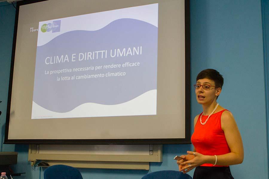 Chiara Soletti, coordinatrice della Sezione «Donne, Diritti e Clima» di Italian Climate Network