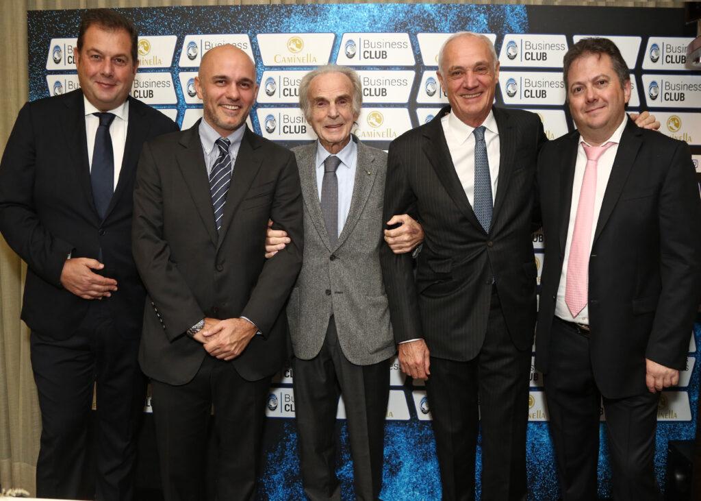 Da destra: Luca Bosatelli, Antonio Percassi, Domenico Bosatelli, Luca Percassi, Fabio Bosatelli