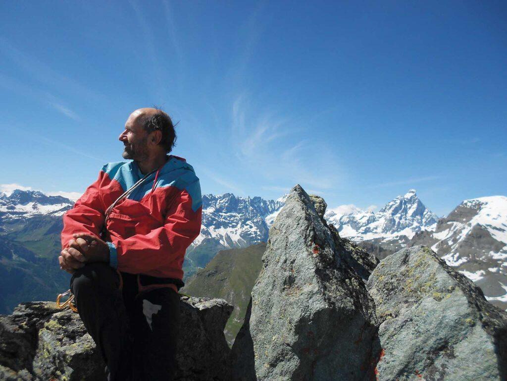 Enrico Carmanni, torinese, giornalista collaboratore della rivista Orobie
