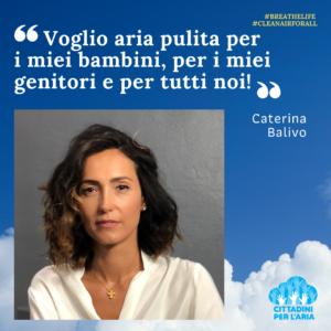 Giornata Internazionale Qualità aria - Caterina Balivo